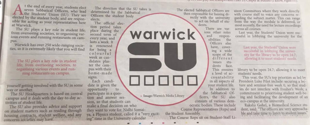 Warwick student body