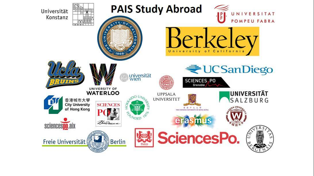 Studying abroad through PAIS