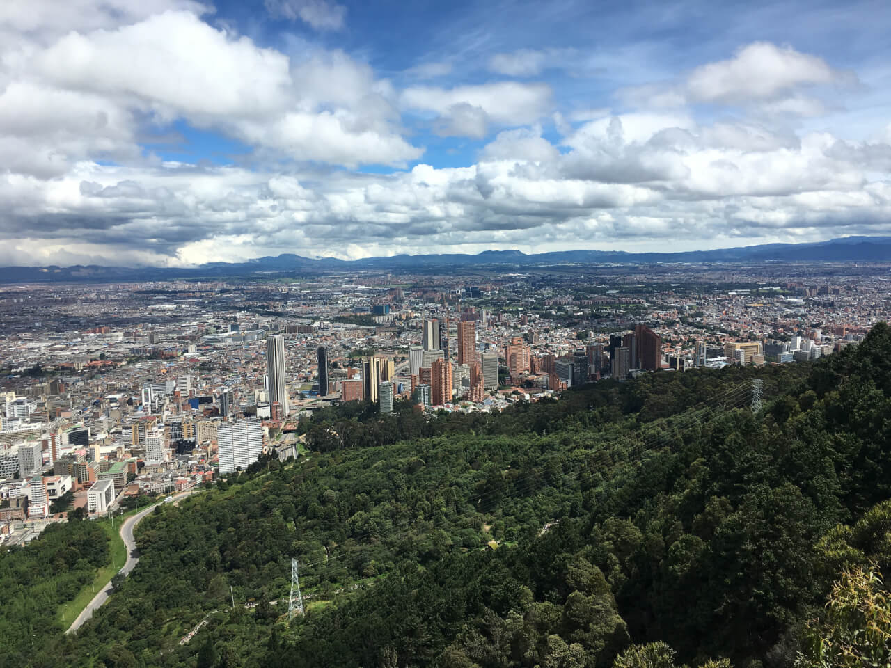 Cityscapes, Homesickness, and Staying Positive Abroad