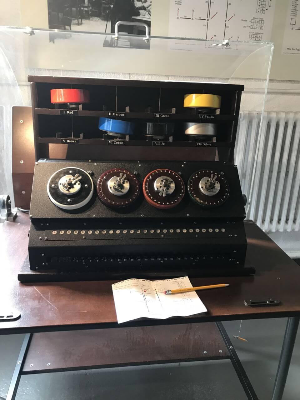 Checking machine