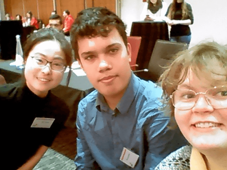 Yifei, Ben and I at the PwC Opportunity Challenge Final