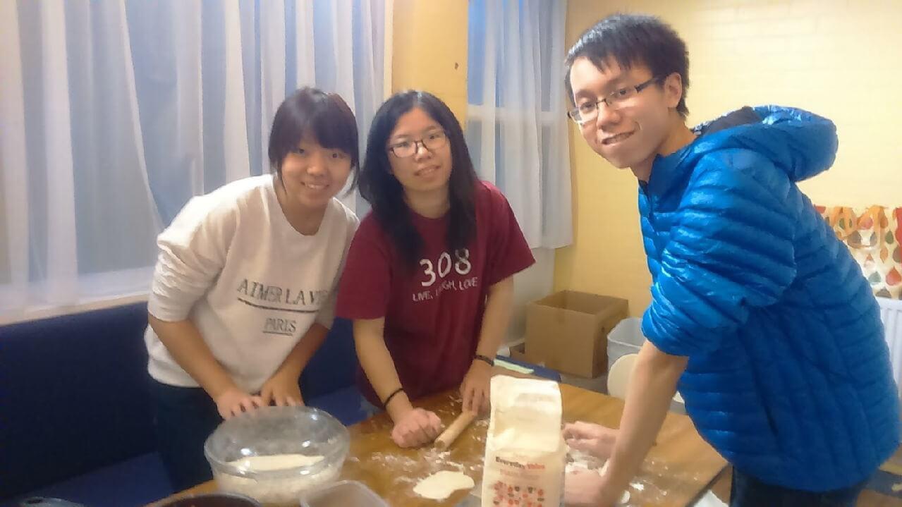 Kai Ye, Min and Wen Jing