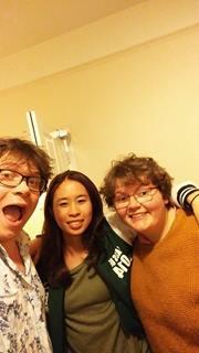 Ben, Marissa and me selfie