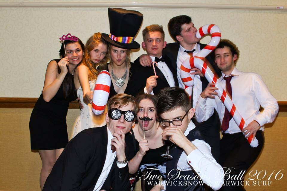 Photo booths are a staple for any Ball worth going to!