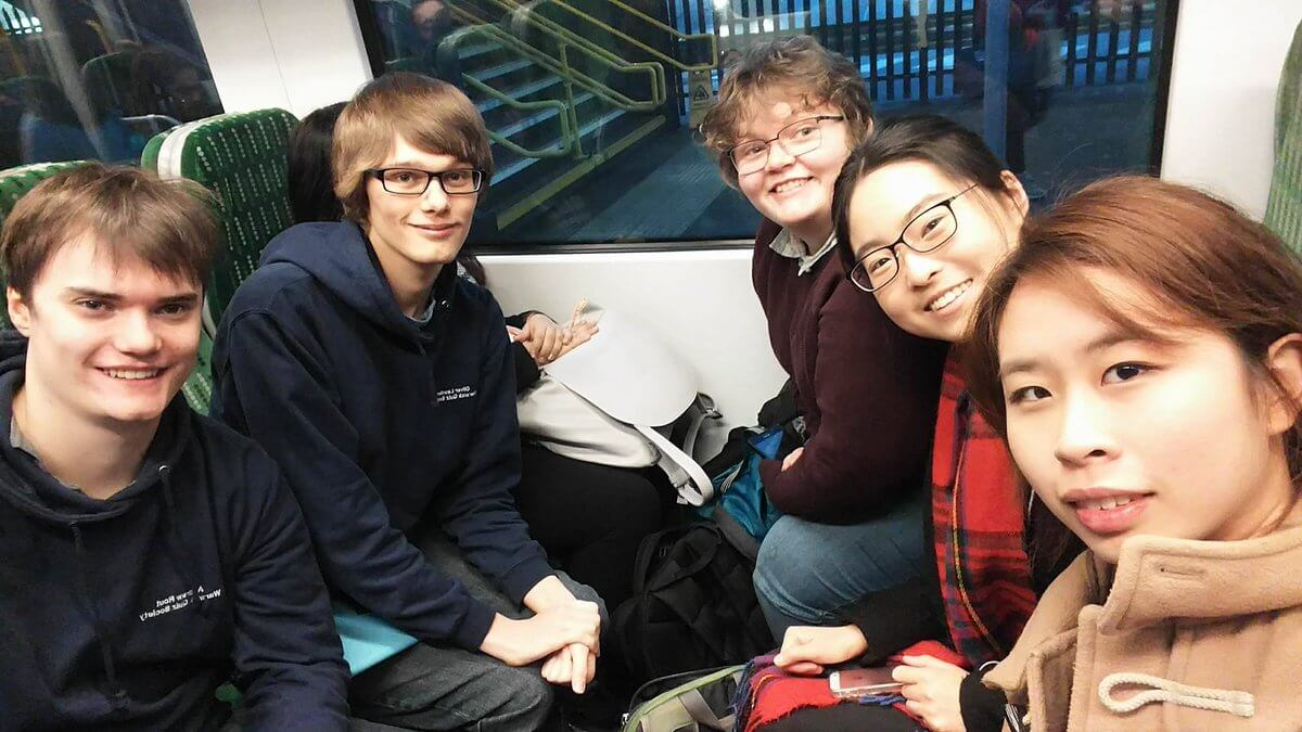 NAQT Novice Train Selfie