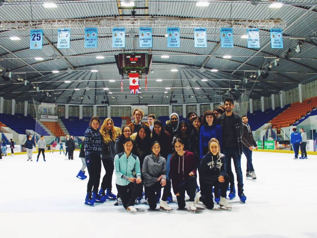 First interest group trip to the rink