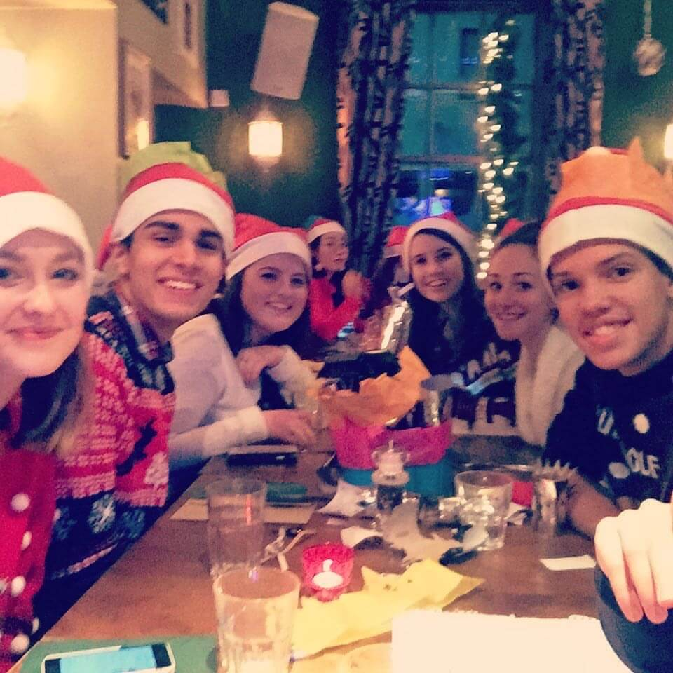 Tap Christmas meal