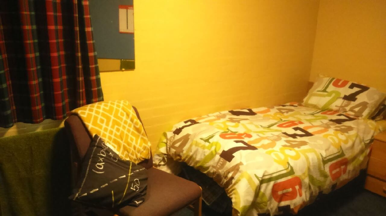 Picture of my room in halls