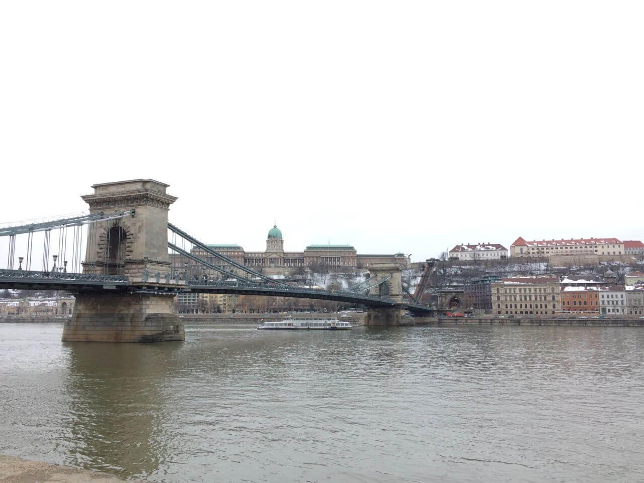 Palace and bridge