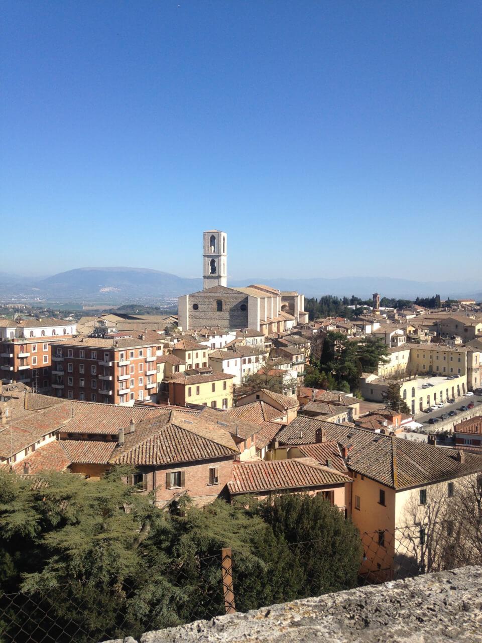 La Primavera Italiana: Sunshine, Palio Preparations, and a trip to Perugia!
