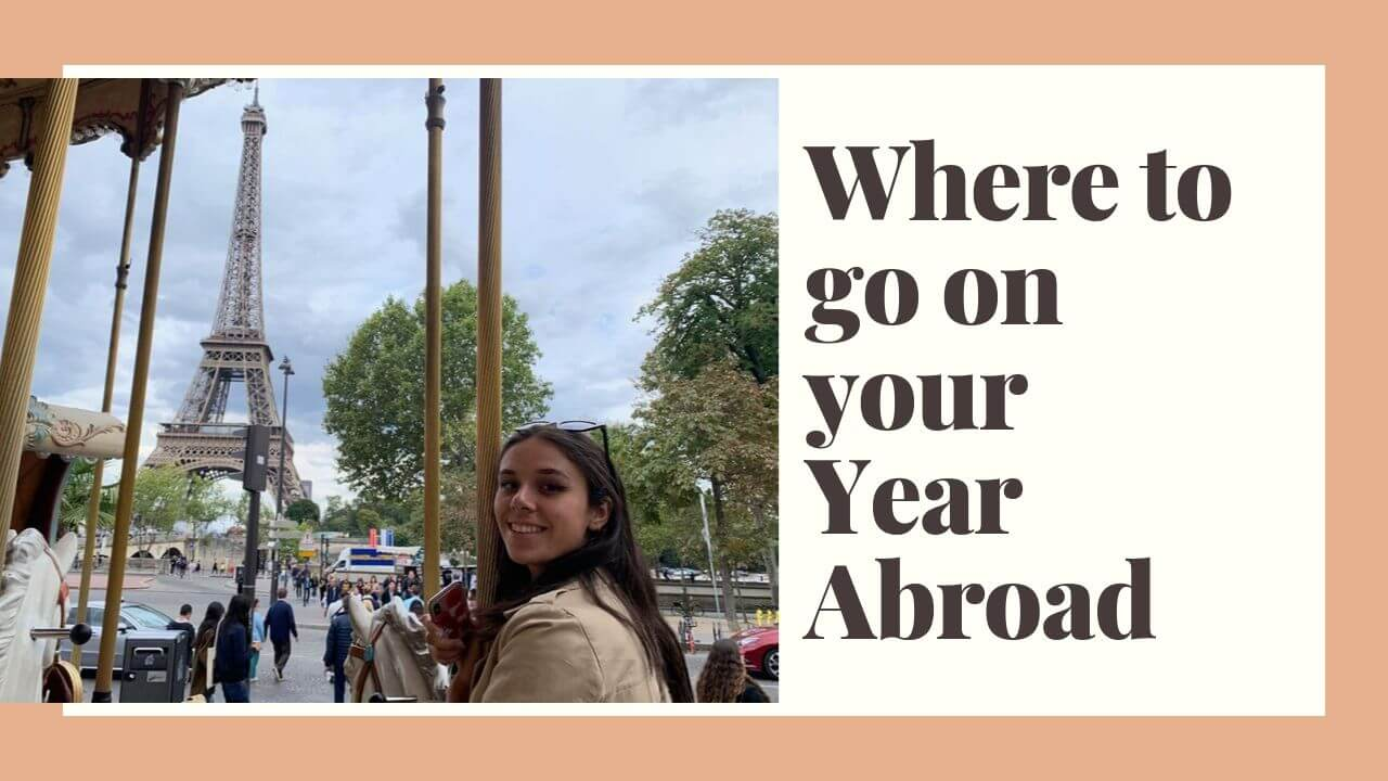 I made a vlog about how to choose your (study) year abroad options!