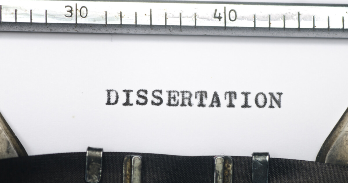 Dissertation, the word that keeps you awake at night