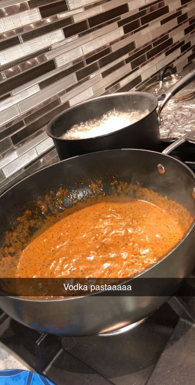 Vodka Pasta Recipe <3
