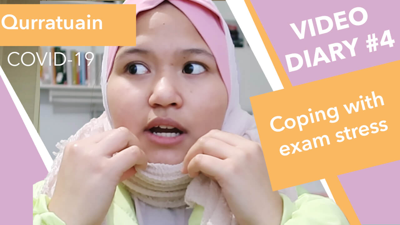 Video Diary #4: Coping with Exam Stress