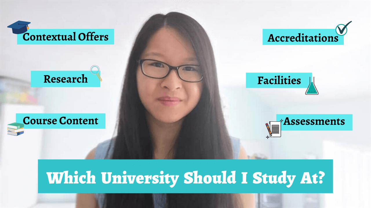 Choosing the Right University and Course for YOU!