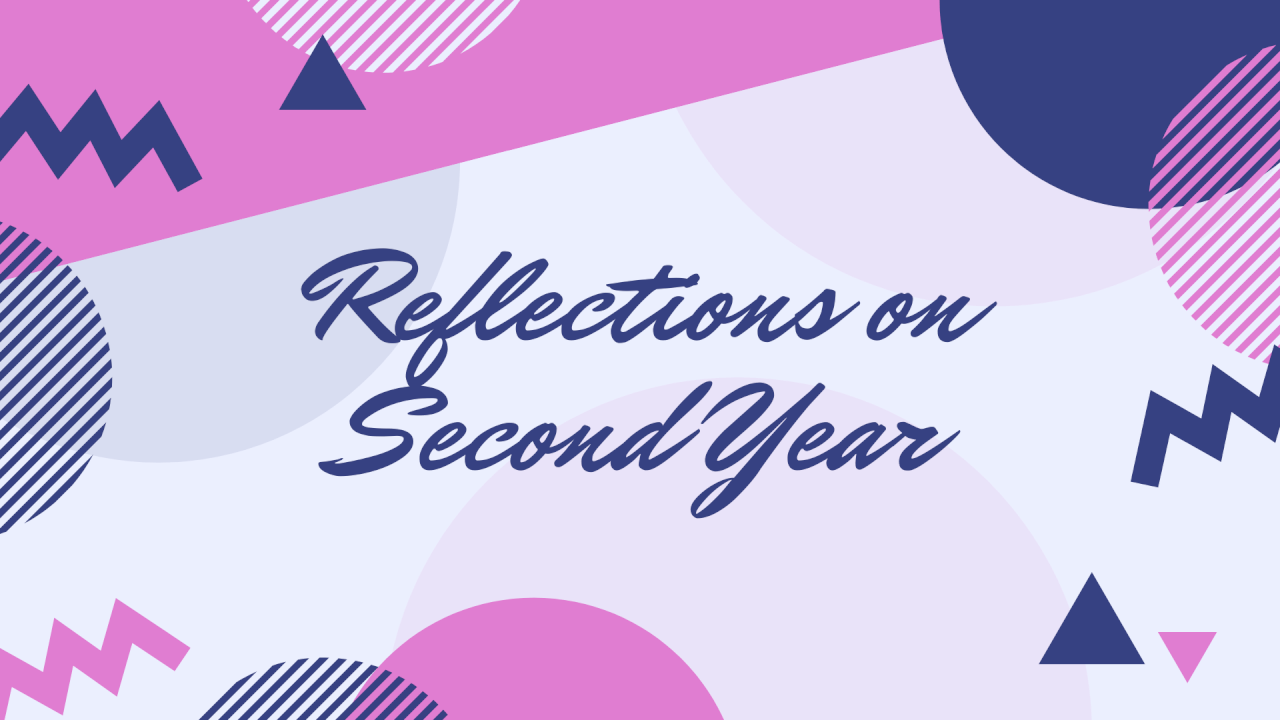 Reflections on Second Year