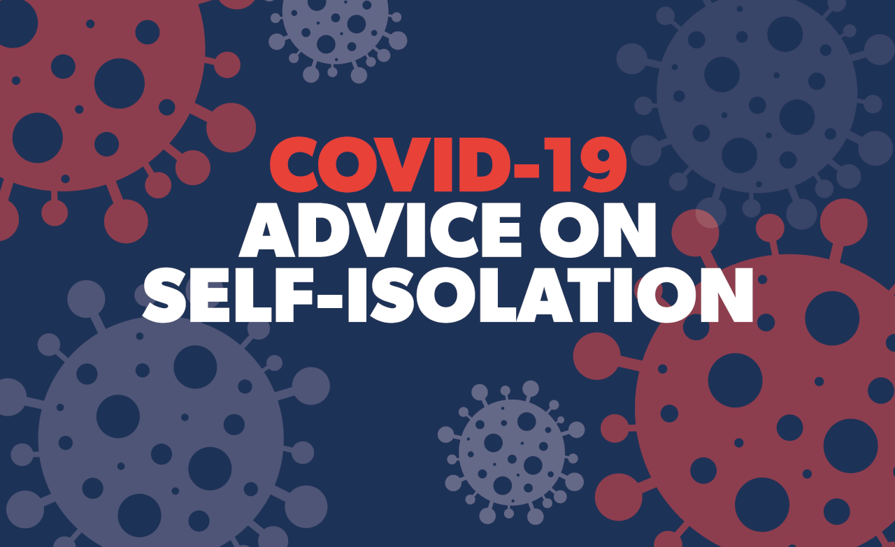 Tips for Self-isolation