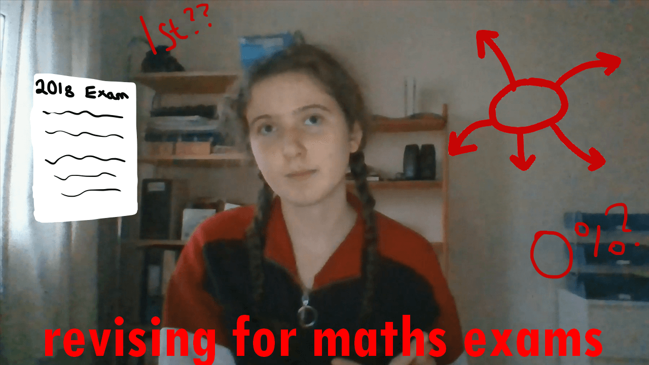 Revising for Maths Exams over Christmas (vlog)