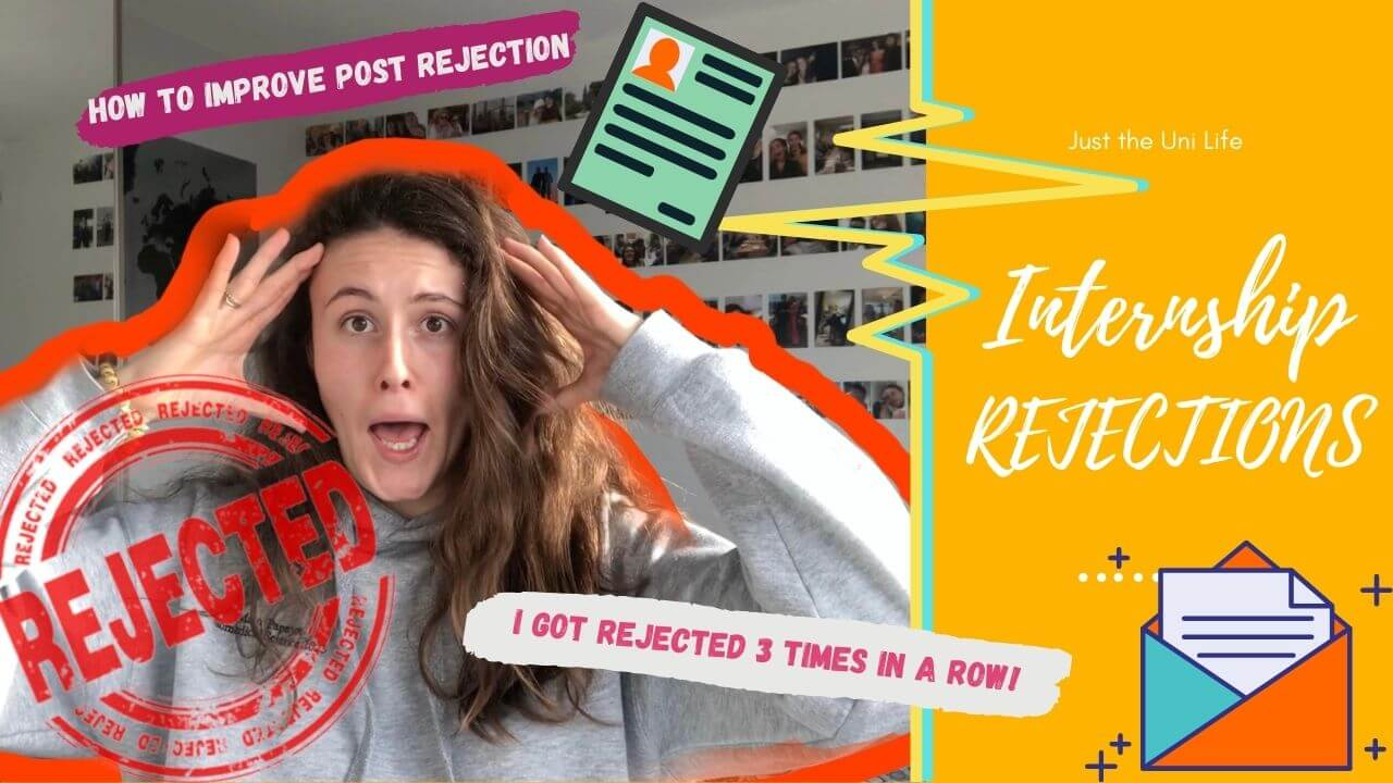 Internship Rejections and How to Improve