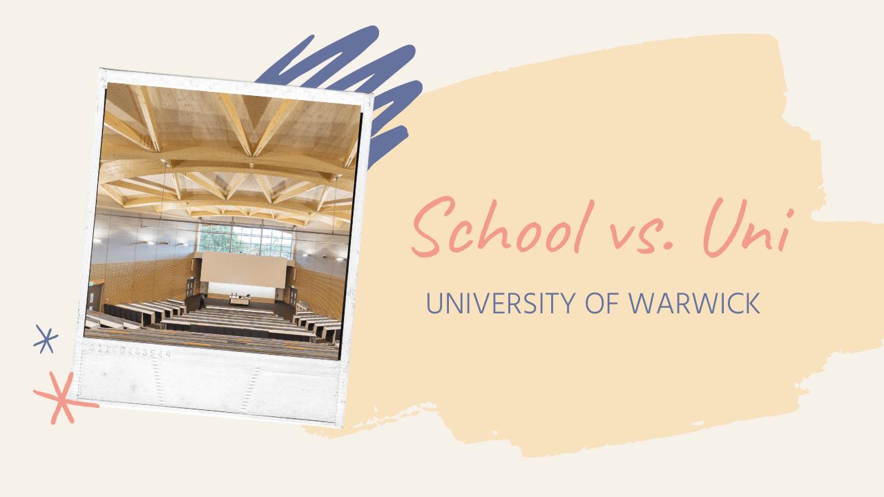 School vs. Uni (Vlog)