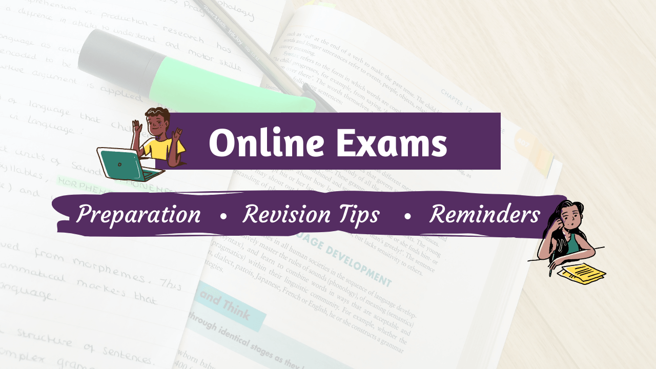Online Exams: Preparation & Revision Tips