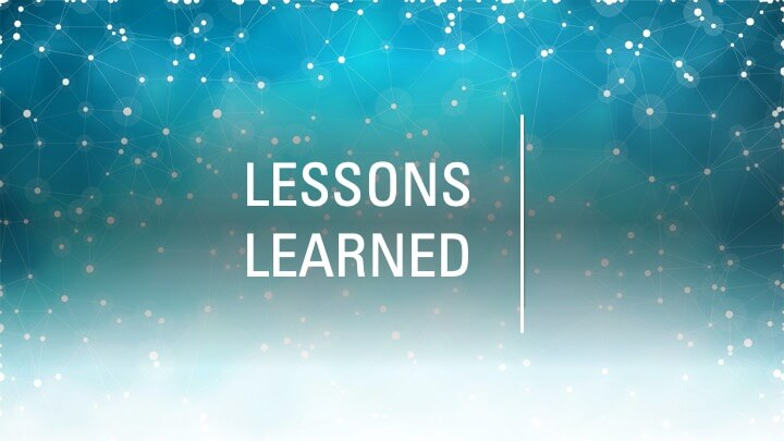 Lessons learned from starting university