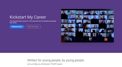 Course for students: Kickstart My Career