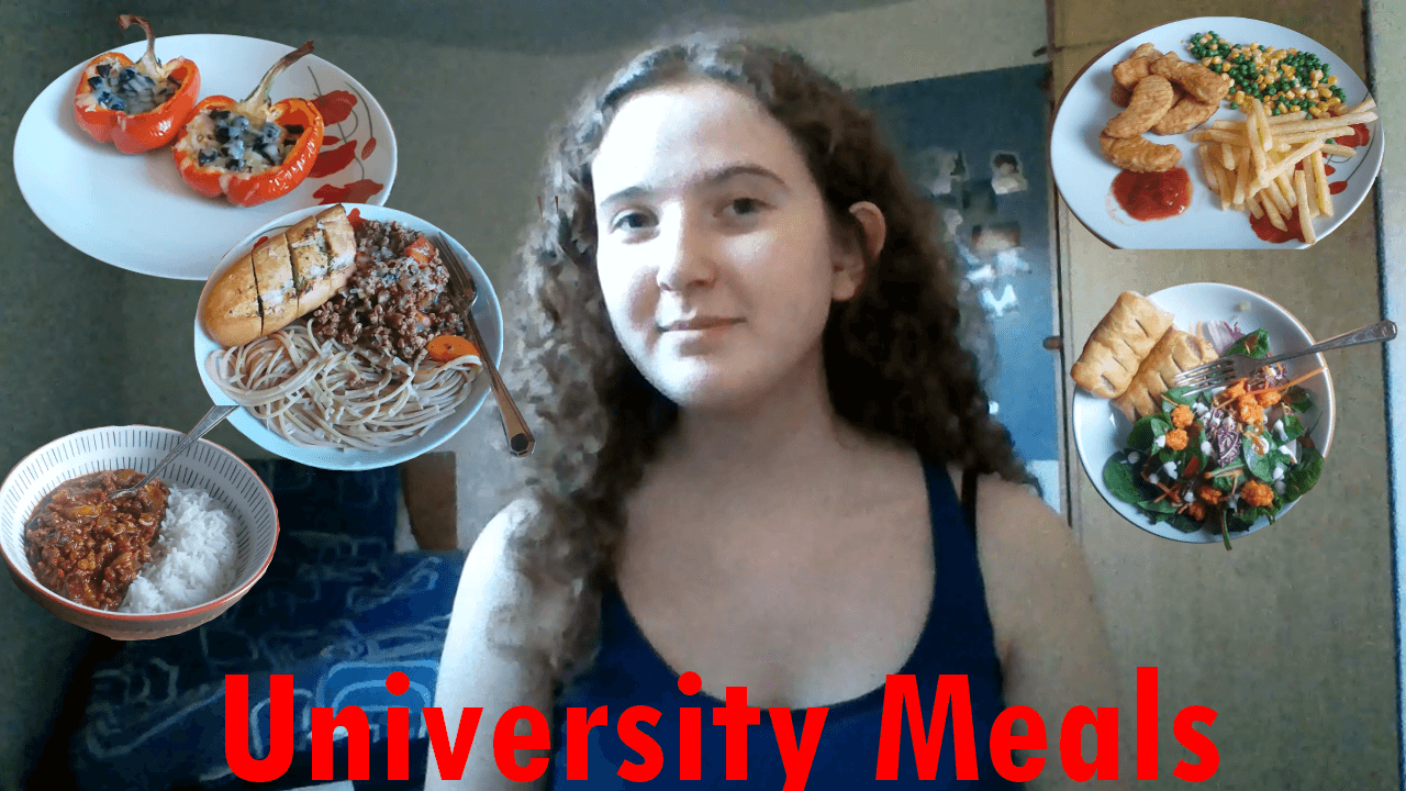 What University Students Actually Eat…. (vlog)